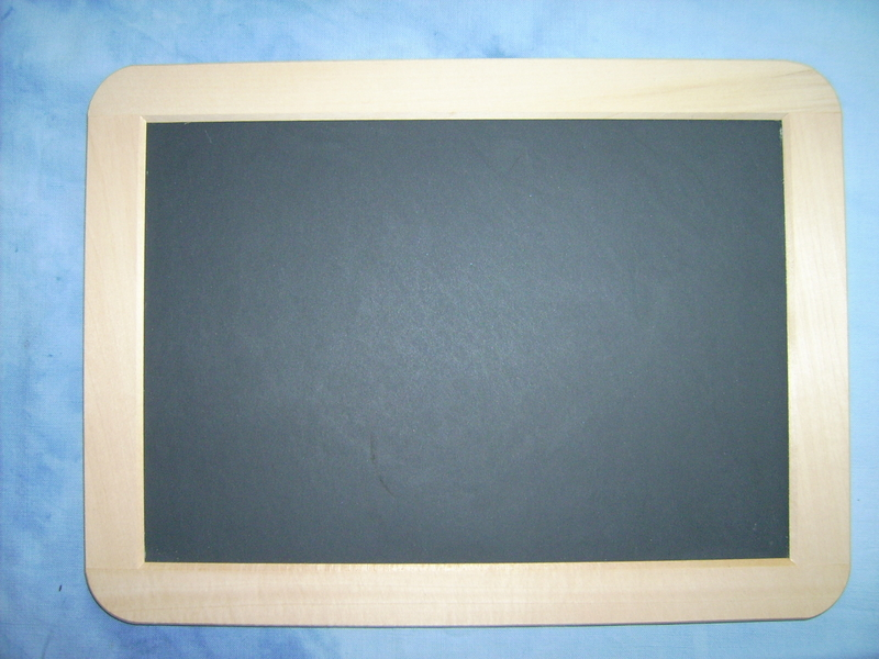 schiefertafel 1724 ohne loch 18x24 cm. Black Bedroom Furniture Sets. Home Design Ideas